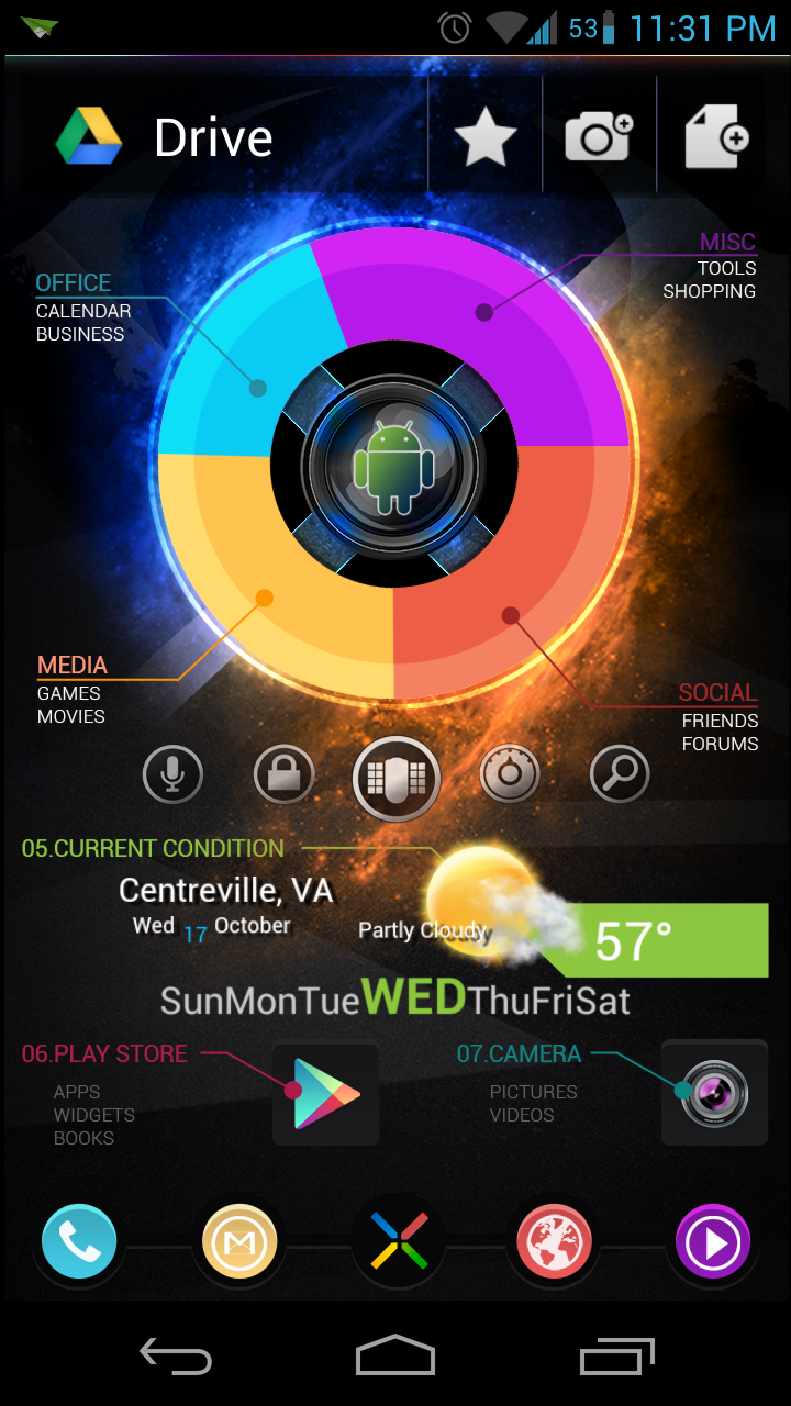 The future, Pie UI Reimagined - Best Android Theme by eZaCx