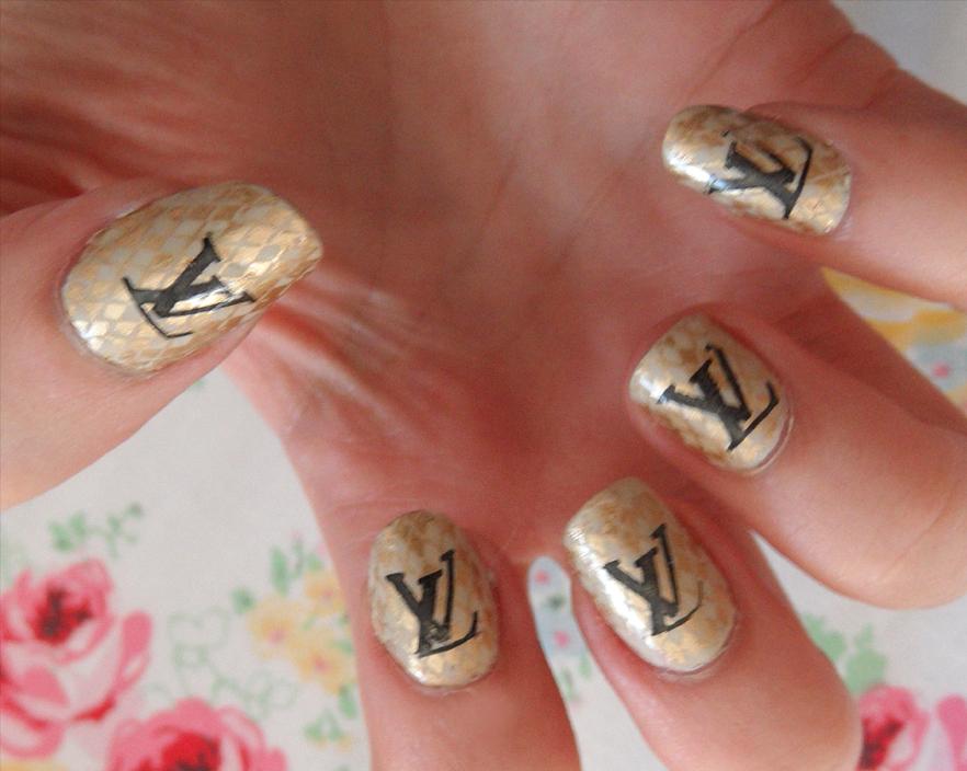 118 Best Images About Louis Vuitton Nails On Pinterest Nail Art