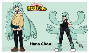 Hana Chou- BNHA OC