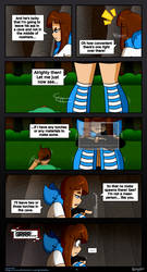 :[Minecraft]: Skye's Journey- Chapter 2- page 6: by Grimmixx