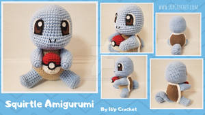 Squirtle Amigurumi