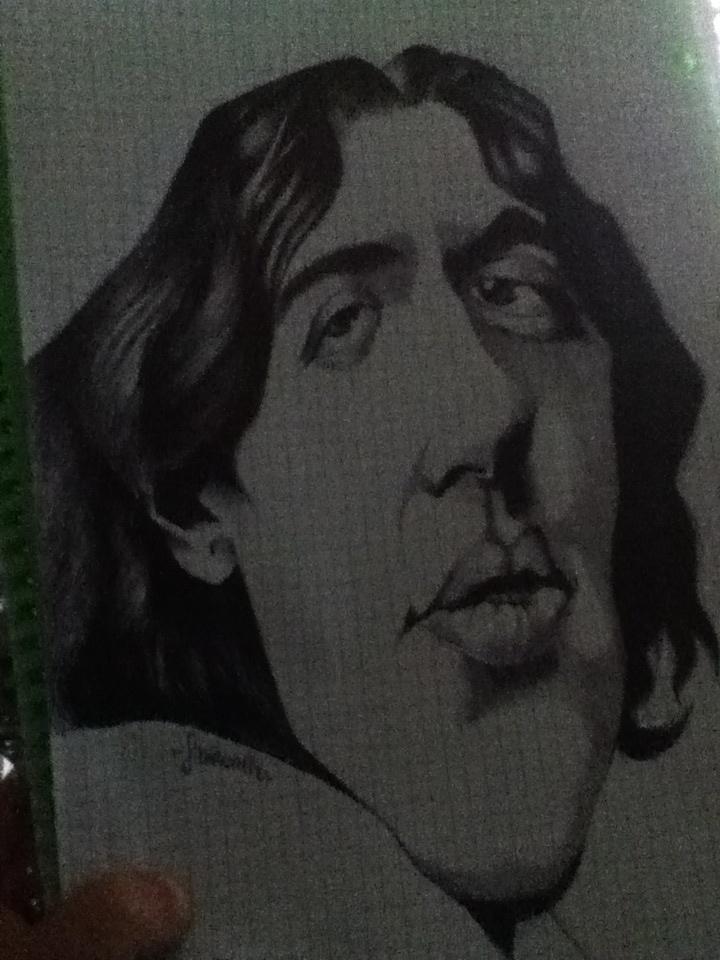 Oscar Wilde by ImMrsMercury
