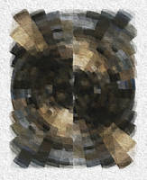Pixel-Swirled Rug by miggim