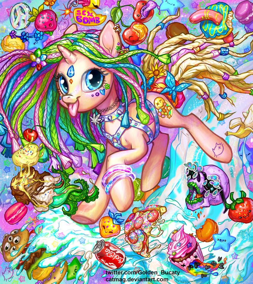 Miley Cyrus pony