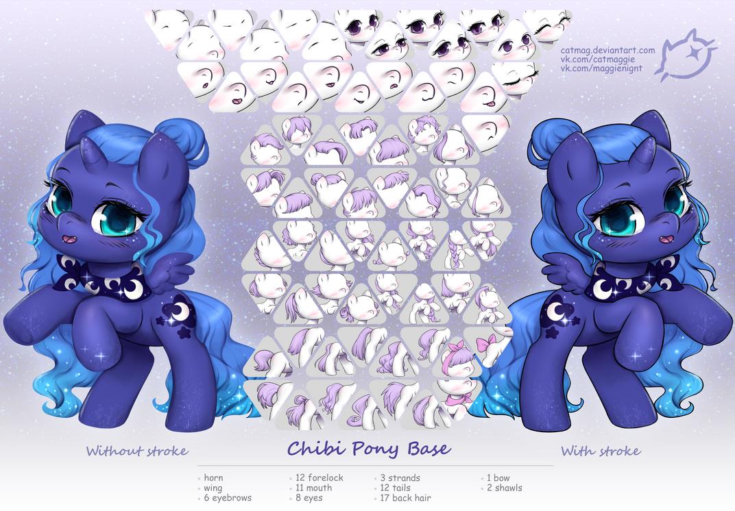Chibi Pony Base | OPEN