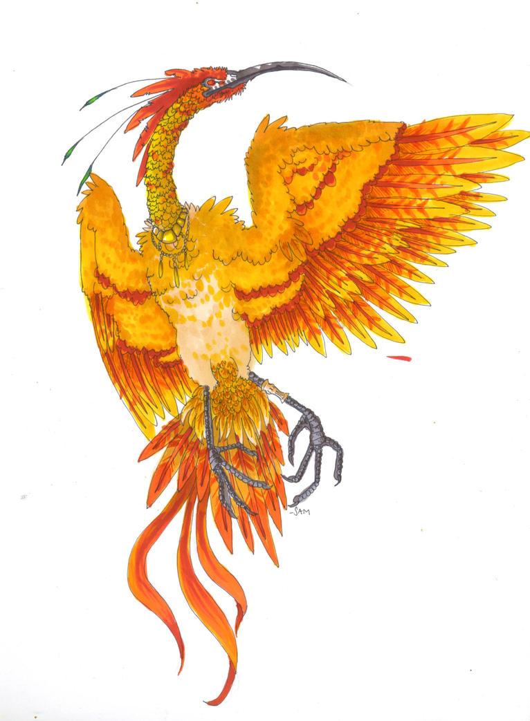 Phoenix 001 by DarkByakko