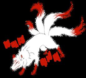 Kitsune by DarkByakko