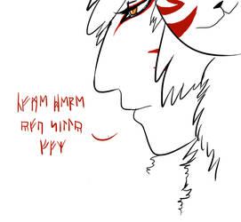 Foxmansir by DarkByakko