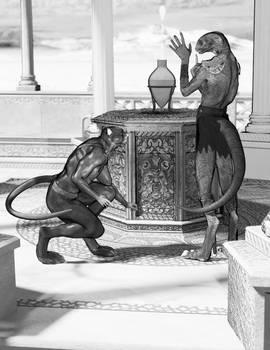 Ratman and Asaatthi Gray