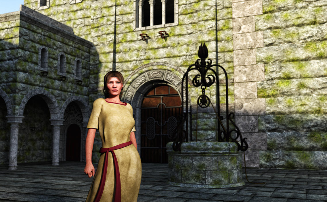 The Courtyard by Willbear