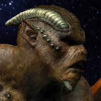 Gargoyle closeup by Willbear