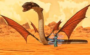 Snake dragon by Willbear