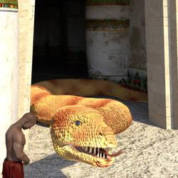 The Golden Serpent Temple