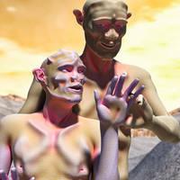 Xhomo Figures2 3dl by Willbear