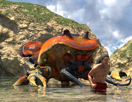 Arch Cove Crab Run Run by Willbear