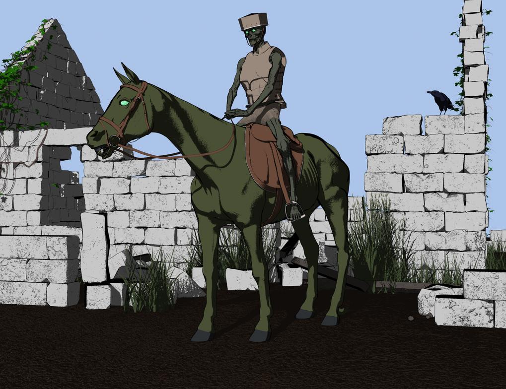 Screyan Rider by Willbear