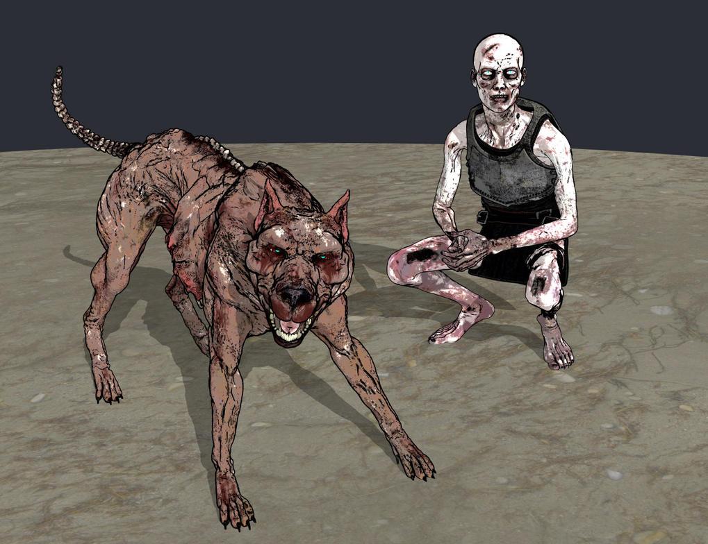 Zombies by Willbear