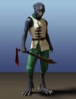 Raven Warrior by Willbear