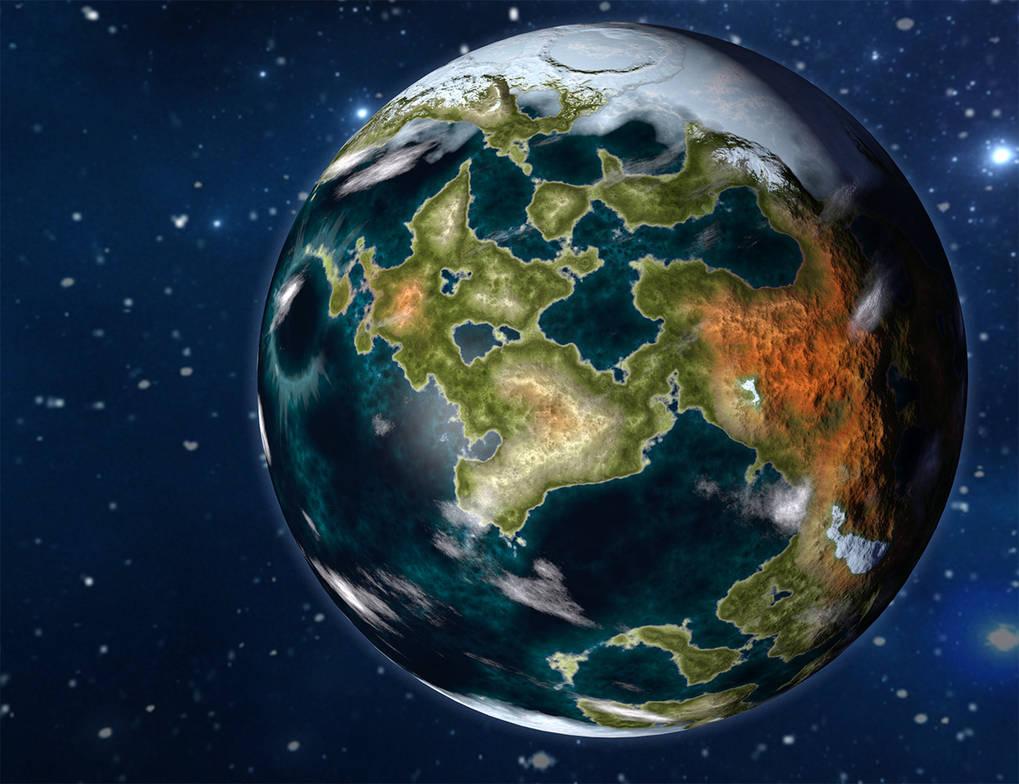World 1 by Willbear