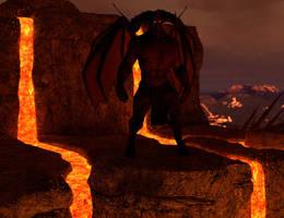 Surveying the burning lands