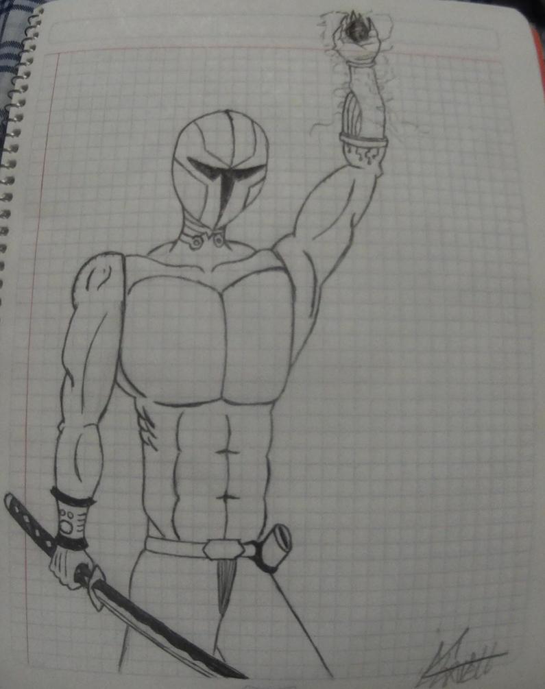 The Warrior by ArturoJCB1996