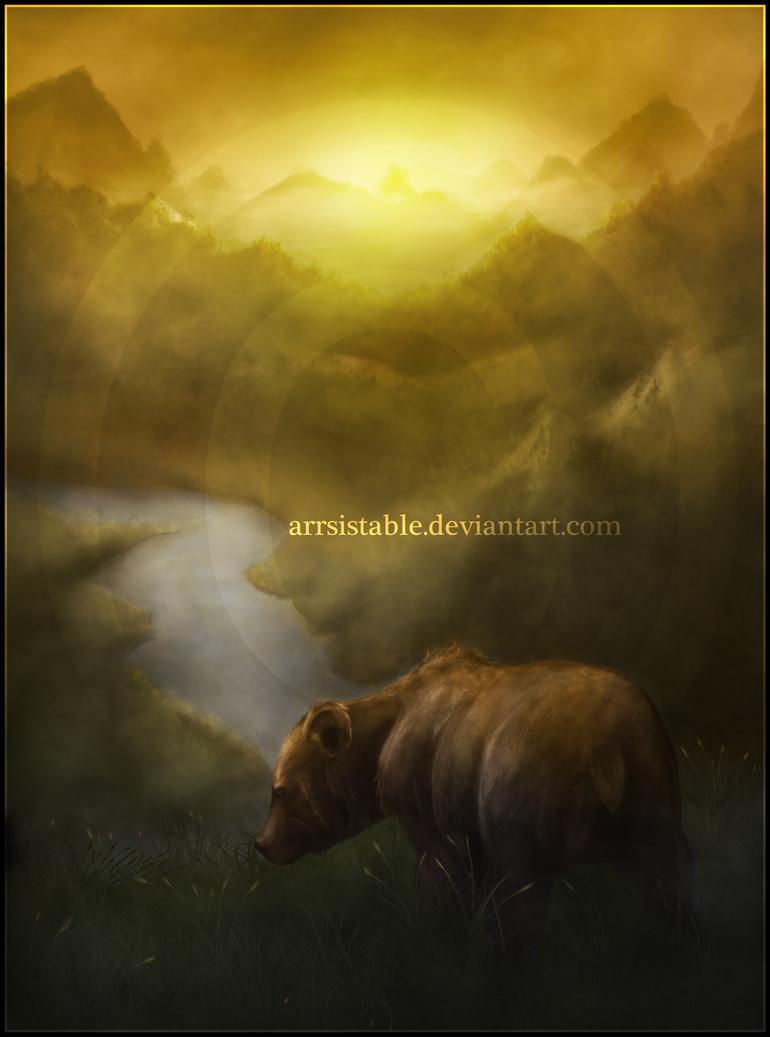 Good Morning, Bear by arrsistable