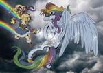 Rainbow Brite vs Rainbow Dash