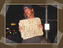 Vision Juicy Cheeseburger by somasal