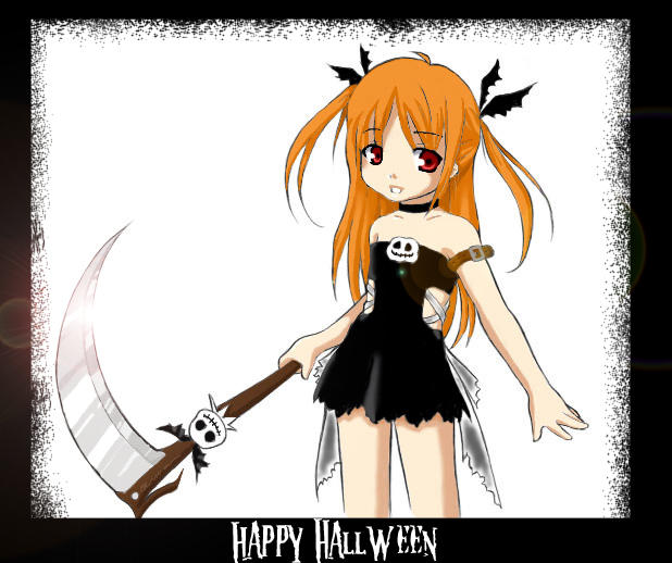 .:Halloween:. by danieru-chan