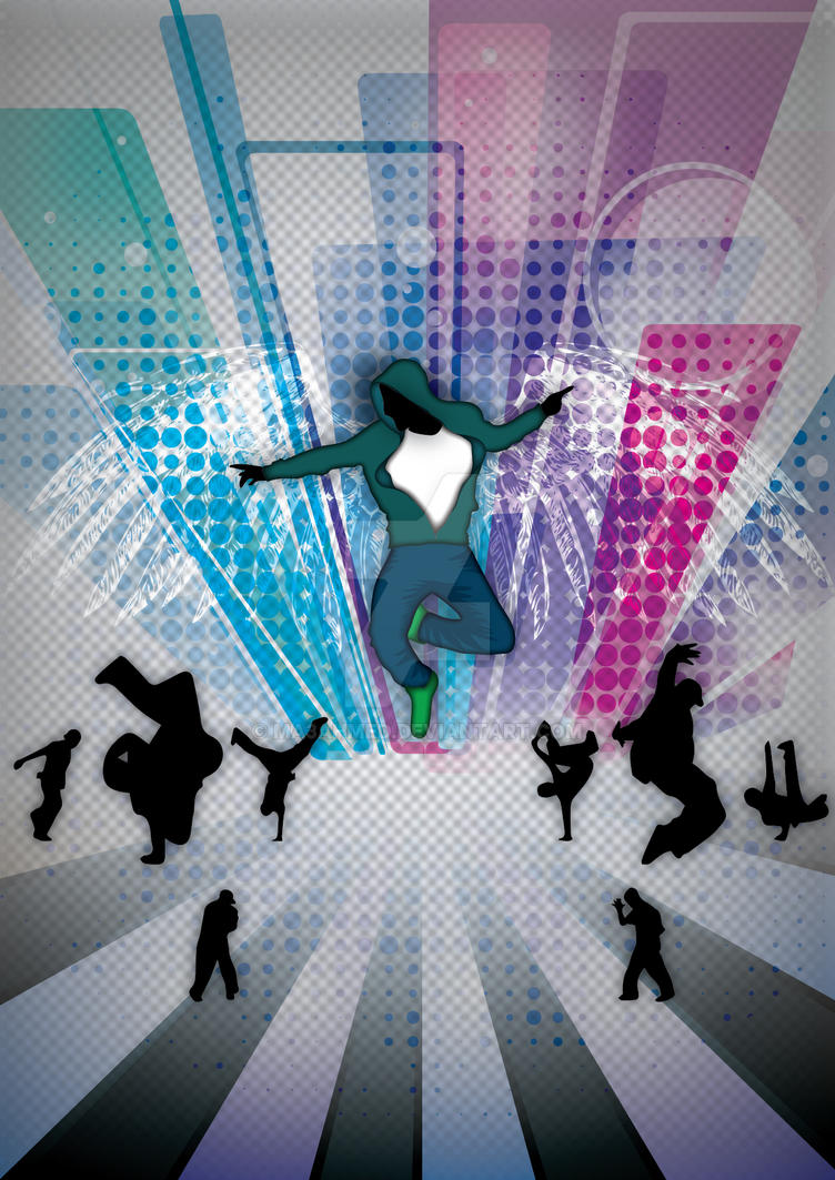 HipHop Dance POster Back By Ma3ahmed