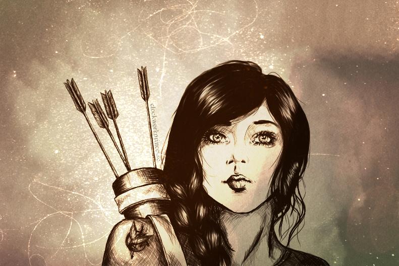 Katniss Everdeen Fan Art Katniss Everdeen by ambresoKatniss Everdeen Fan Art