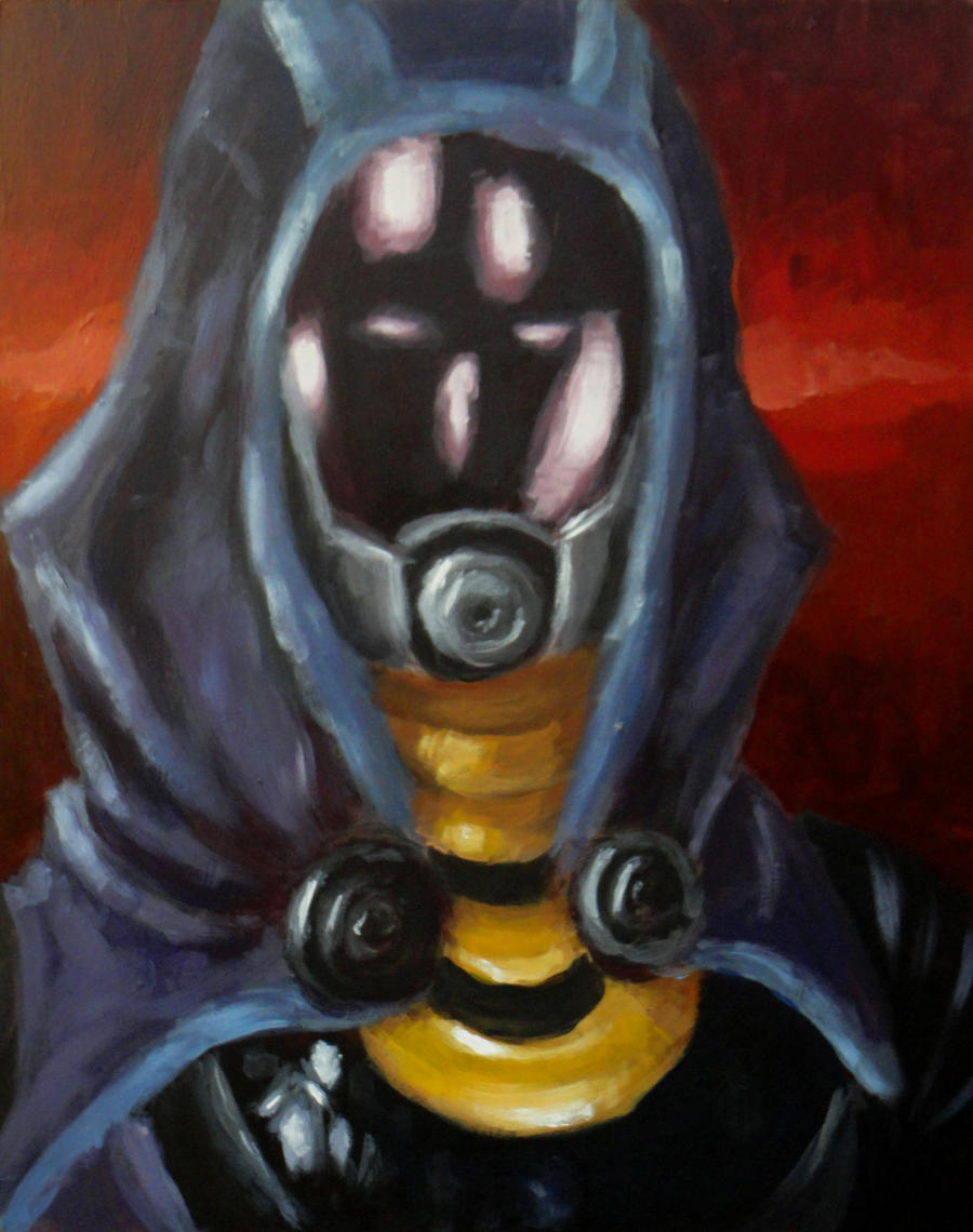 Tali Portrait by Grey-Walker