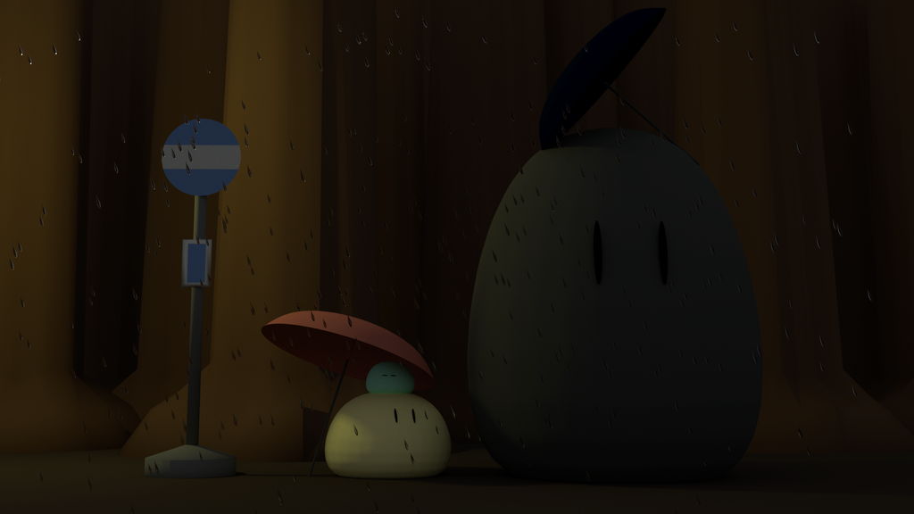 Dango Totoro by telimonster