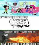 My reaction to Teen Titans GO