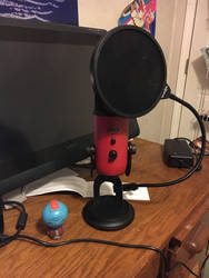 She's a beauty - My New Red Blue Yeti by TheOfficialKaeChan
