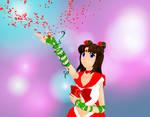 Rose Petal Magic - Sailor Rose Red by TheOfficialKaeChan