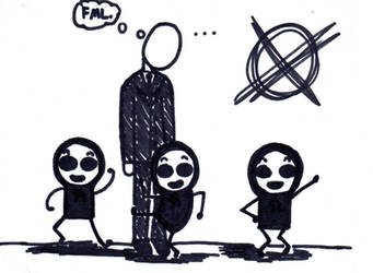 Marble Hornets Cartoon 1 by fiona-florb
