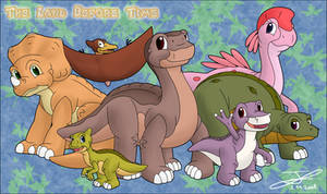 The Land Before Time Cast by Hakunaro