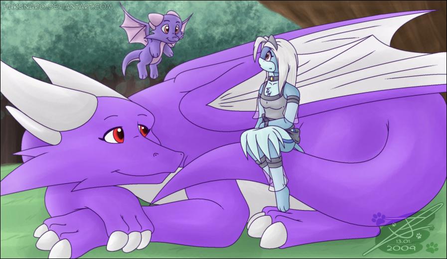 - Upon Dragons - by Hakunaro