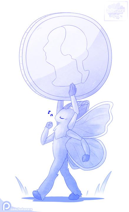 Patreon Request: Tiny Moth by Hakunaro