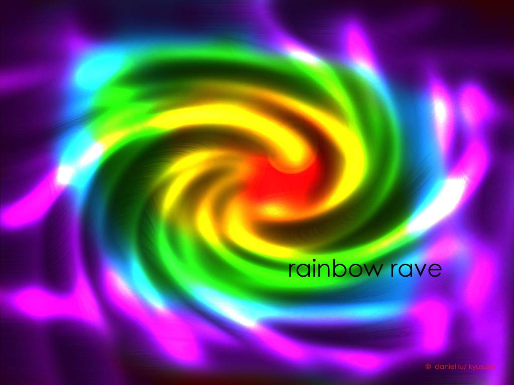 Rainbow rave by kyusuke