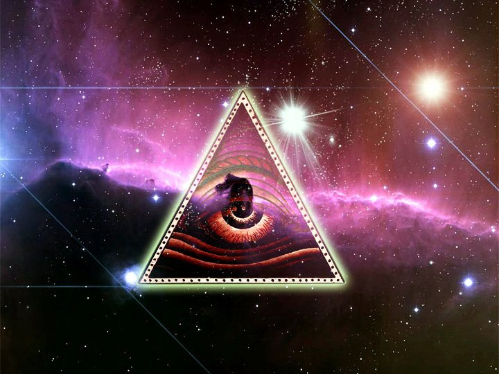 Eye Of Horus Wallpaper The eye of horus in nebula by