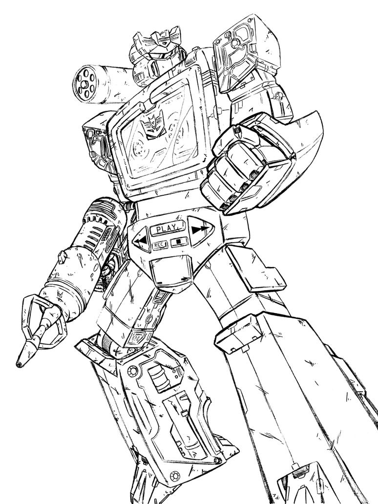 Soundwave pencils by teamzoth on
