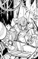 Optimus Prime - Instruments of Destruction(Inks) by teamzoth