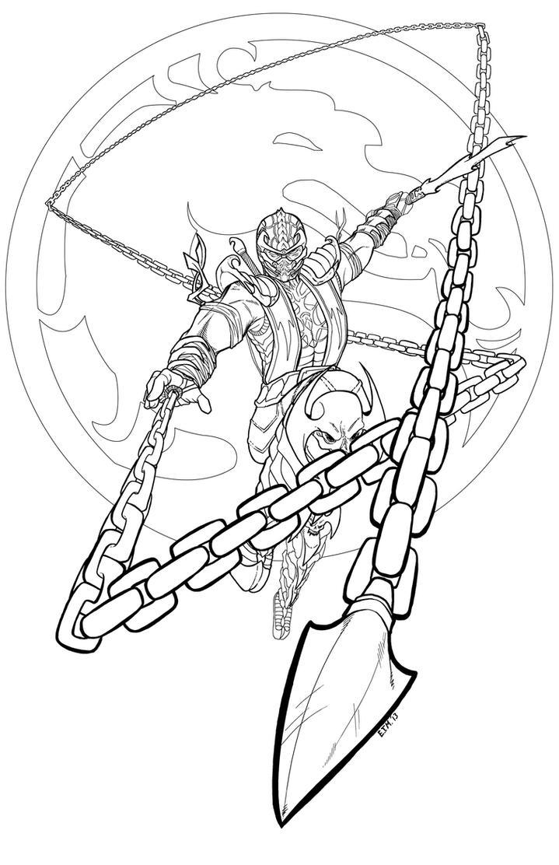 Mortal Kombat - Scorpion by teamzoth on DeviantArt
