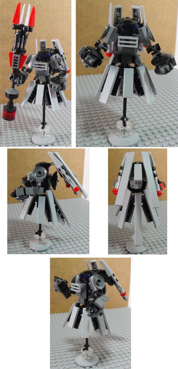 Mechs Built From Legos For The Mobile Frame Zero St 09b