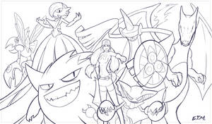 Pokemon - Teamrocket - Lines by teamzoth