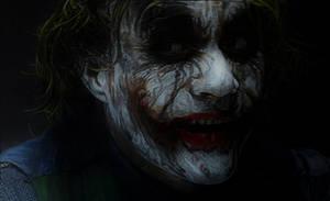 The Joker (black paper)