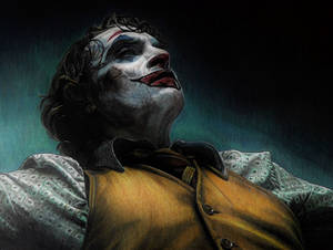 Joker dancing (drawing)