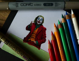 Joker (miniature drawing)